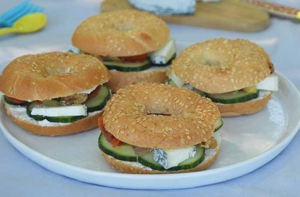 Mini Bagels concombre et Selles-Sur-Cher