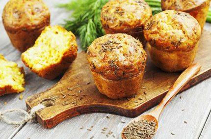 Muffin Selles-Sur-Cher et cumin